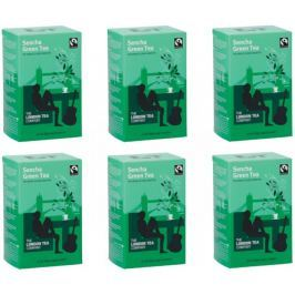 London Tea Company Fairtrade zelený čaj Sencha 20ks x 6