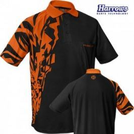 Harrows Košile Rapide - Black & Orange