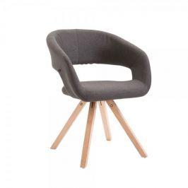BHM Germany Jídelní židle Gizela II. textil, přírodní, tmavě šedá