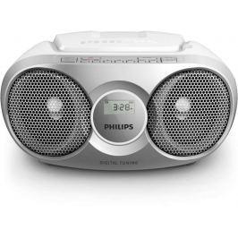 Philips AZ215S, stříbrná