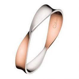 Calvin Klein Bicolor prsten Supple KJ7SPR2001 (Obvod 52 mm)