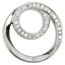 Silver Cat Stříbrný přívěsek spirála se zirkony SC222 stříbro 925/1000