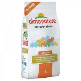 Almo Nature Holistic DRY CAT Adult - Krůta s rýží 2 kg