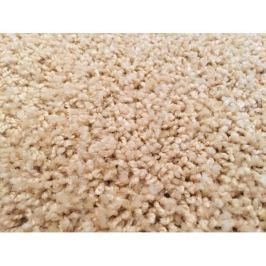 Kusový koberec Color Shaggy béžový, průměr 160 cm