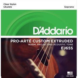 Daddario EJ65S Struny pro sopránové ukulele Produkty