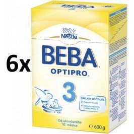 Nestlé BEBA PRO 3 Kojenecké mléko - 6x600g