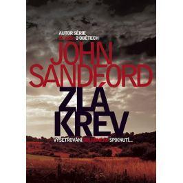 Sandford John: Zlá krev Krimi, detektivky