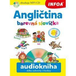 Šamalíková Pavlína: Angličtina barevná slovíčka + CDmp3