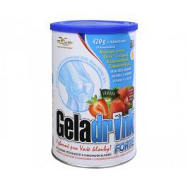 Orling Geladrink Forte nápoj 420 g (Příchuť Černý rybíz)