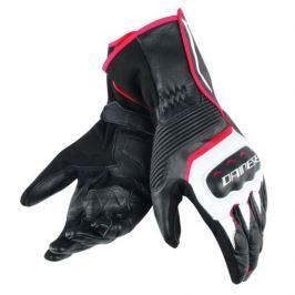 Dainese rukavice ASSEN vel.S černá/bílá/červená