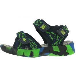 Primigi chlapecké sandály 22 modrá/zelená
