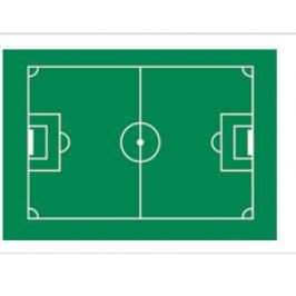 Florensuc Jedlý papír fotbalové hřiště 29,5 x 19,5cm