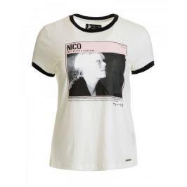 Pepe Jeans dámské tričko Cat L smetanová