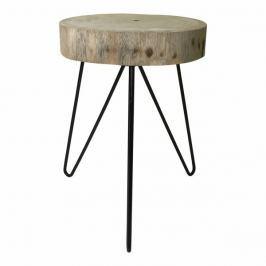 Mørtens Furniture Noční / odkládací stolek Minimal, 35 cm