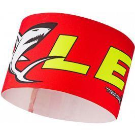 Leki Race shark headband red S/M