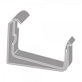 LanitPlast PVC hák RG 70 hranatý šedá barva