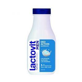 Lactovit Osvěžující sprchový gel pro muže na tělo, tvář a vlasy 3v1 Men Deo Action 300 ml