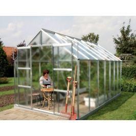VITAVIA skleník VITAVIA URANUS 11500 matné sklo 4 mm stříbrný