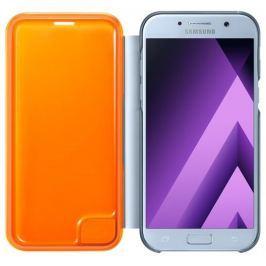 Samsung Flipové neonové pouzdro pro A5 2017, EF-FA520PLEGWW, Blue