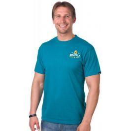 MEATFLY pánské tričko Explore S modrá