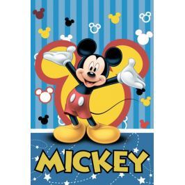 Jerry Fabrics Mickey Mouse deka 100x150cm