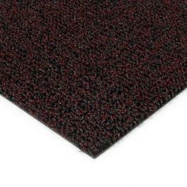 FLOMAT Červená plastová zátěžová venkovní vnitřní vstupní čistící zóna Rita - 200 x 200 x 1 cm