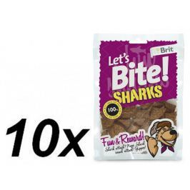 Brit Lets Bite Sharks 10x150 g