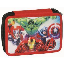 GIM Školní dvoupatrový penál Avengers - plněný