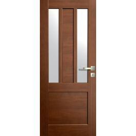 VASCO DOORS Interiérové dveře LISBONA kombinované, model 4, Ořech, C