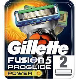 Gillette Fusion5 ProGlide Power holicí hlavice pro muže 2ks