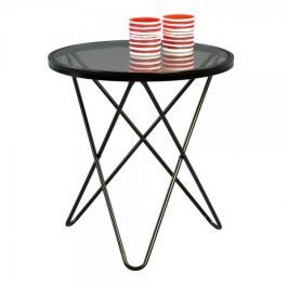 Artenat Konferenční stolek skleněný Phoenix, 55 cm