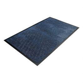 Modrá textilní čistící vnitřní vstupní rohož - 120 x 85 x 0,9 cm