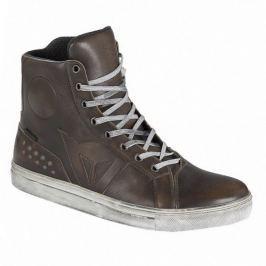 Dainese kotníkové boty STREET ROCKER D-WP vel.43 hnědá, kůže (pár)