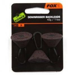 Fox edges zadní olovo downrigger back leads 43 g