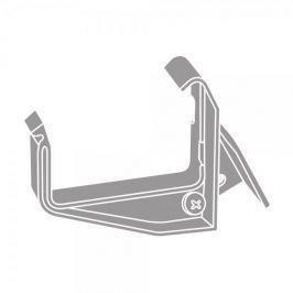 LanitPlast PVC hák s kloubem RG 70 hranatý šedá barva