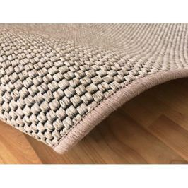 Kusový světle béžový koberec Nature 80x150 cm