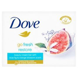 Dove Krémová tableta Go Fresh Restore s vůní modrého fíku a pomerančového květu (Beauty Cream Bar) 100 g