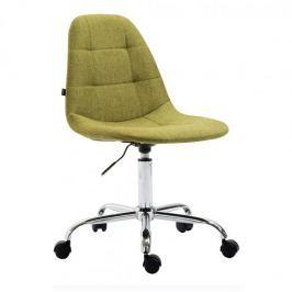 BHM Germany Pracovní židle Rima textil, zelená