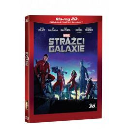 Strážci Galaxie 3D+2D (2 disky)   - Blu-ray