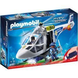 Playmobil 6921 Policejní helikoptéra s LED světlometem