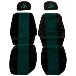 F-CORE Potahy na sedadla PS02, zelené