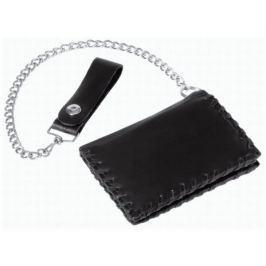 Held peněženka  Biker, černá kůže (125mm x 90mm)