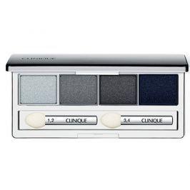 Clinique Pudrové oční stíny (All About Shadow Quad) 4,8 g (Odstín 09 Smoke And Mirrors)