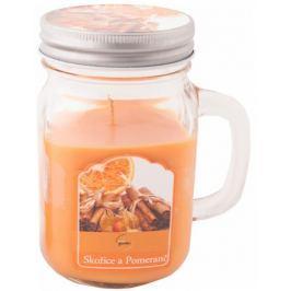New Garden s.r.o. Svíce vonná v soudku skořice a pomeranč 230 g