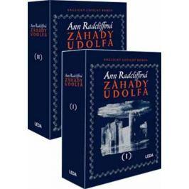 Radcliffová Ann: Záhady Udolfa (2 díly v dárkové kazetě)