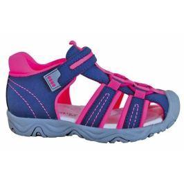 Protetika Dívčí sandály Art 30 modro-růžové