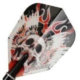Target – darts Letky VISION 100 Standard Winged Skull Red 34117770