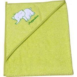 Puppolina osuška froté slon, zelená