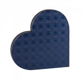 Dárková krabice Lenka 2, modrá kára - 45x40x6,2 cm