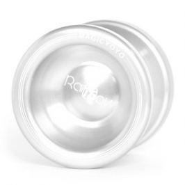 Teddies Jojo T6 - Rainbow 5x4cm hliník/kov bílá